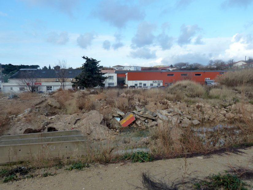 Même abimé, un terrain urbain peut se transformer en potager !