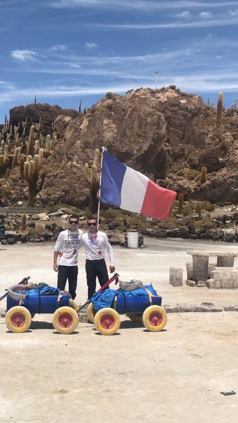 btvg #4 Les frères L. ont traversé un désert bolivien pour deux associations de la région 1