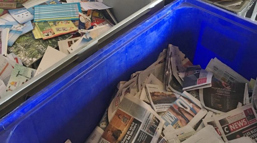 Recycler au bureau peut créer de l emploi u marcelle