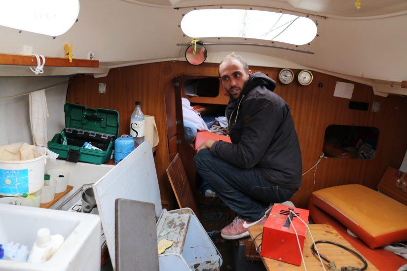 Des bateaux en fin de vietransformés en hébergement à terre 8