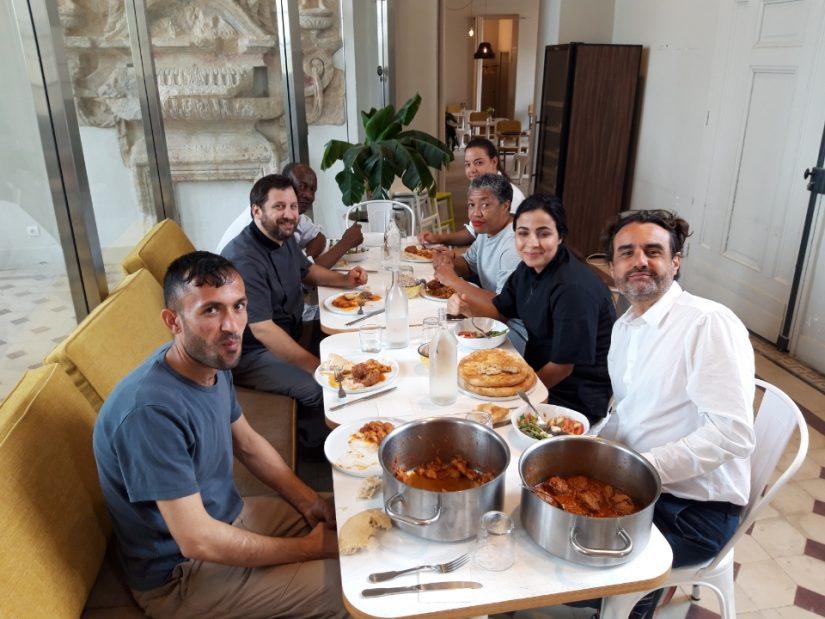 Changer son regard sur les réfugiés avec la cuisine en partage 8