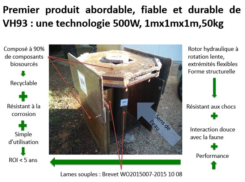 De l'énergie verte avec une hydrolienne entièrement recyclable 3