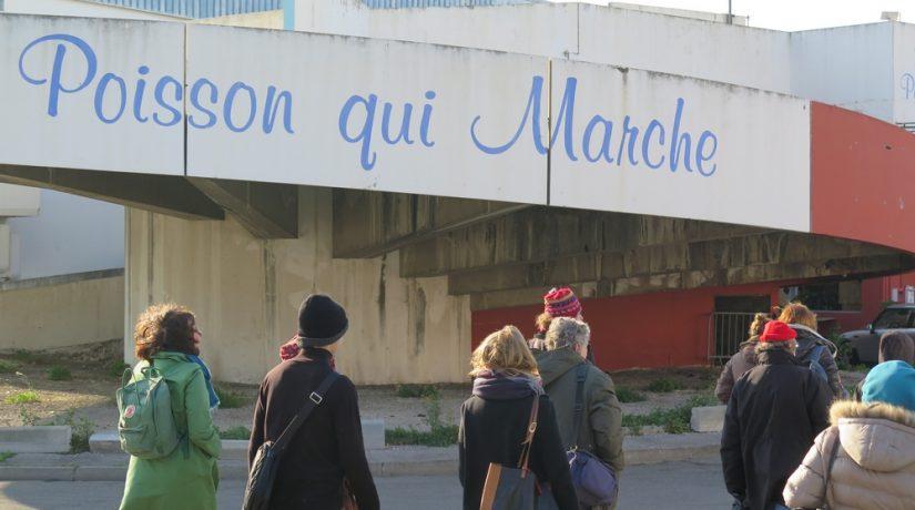 Agnès Maillard et Louis Duffet, guides bénévoles de leur quartier du nord de Marseille