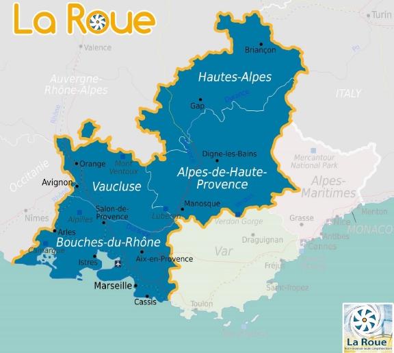La Roue tourne à plein régime à Marseille et en Provence 2