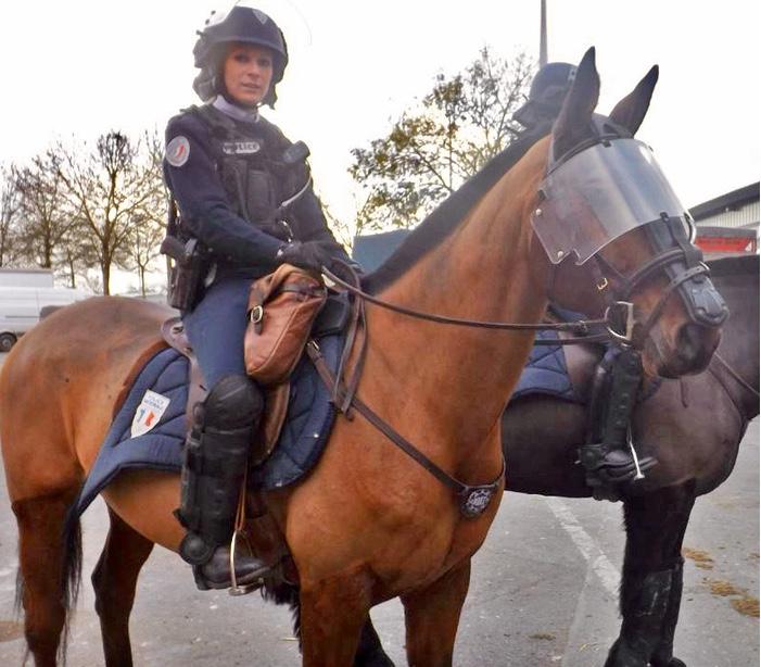 Une police très à cheval sur la sécurité 2