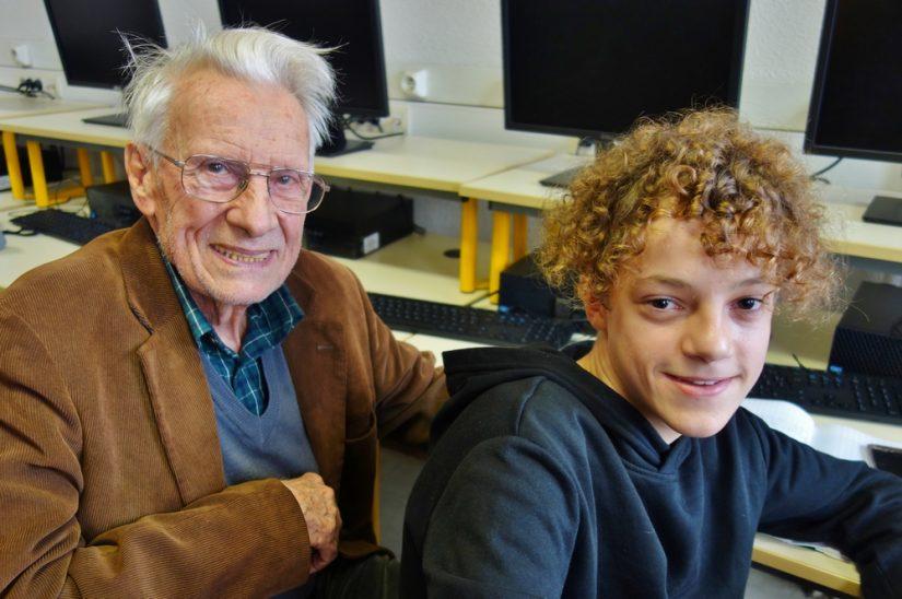 Mon correspondant a 90 ans!