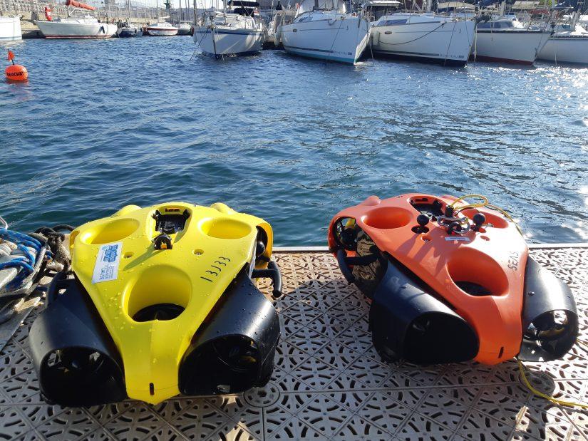 Nettoyage du Vieux-Port de Marseille en mode High Tech! 3