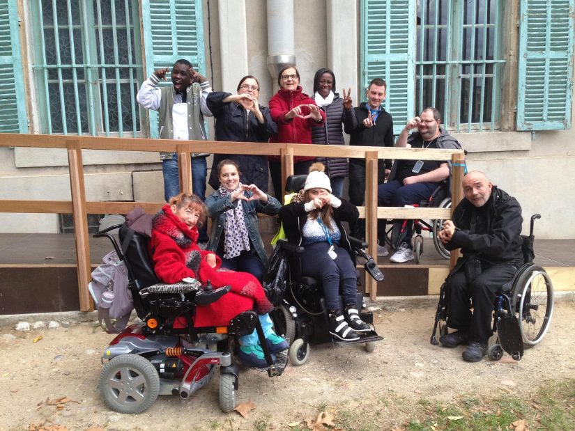Personnes valides et handicapées sous le même toit 1