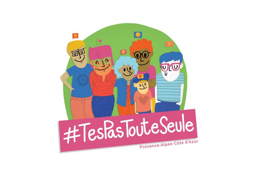 #Tespastouteseule: une campagne pour rompre l'isolement face aux violences conjugales