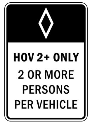 Les voies réservées au covoiturage gagnent (doucettement) du terrain 1