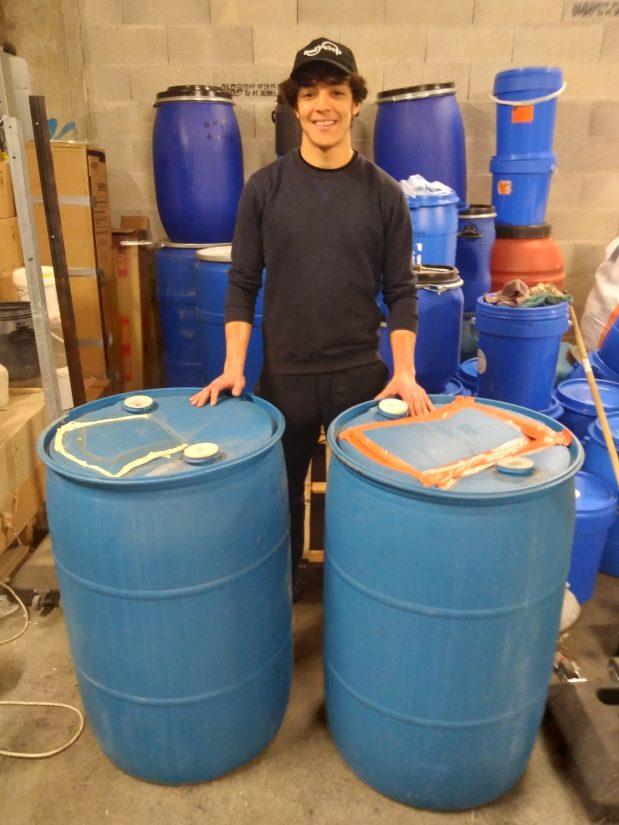 Recyclop stockage