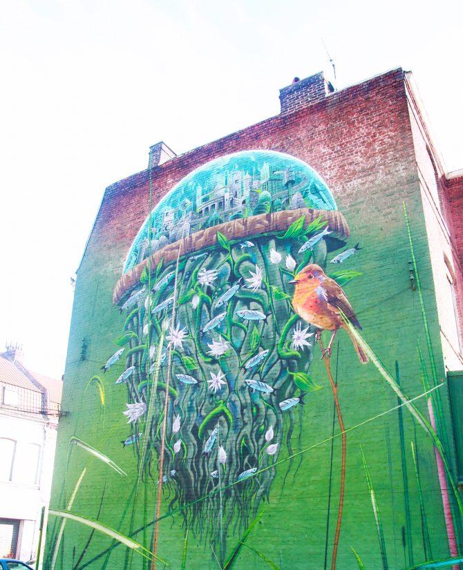 Street art à Roubaix: la culture pour tous dans la rue