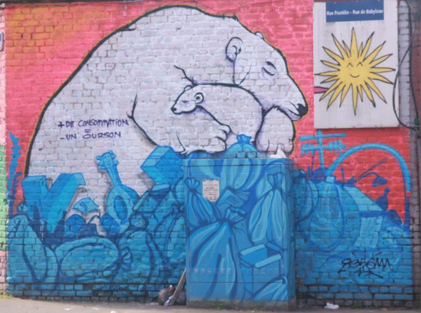 Street art à Roubaix: la culture pour tous dans les rues