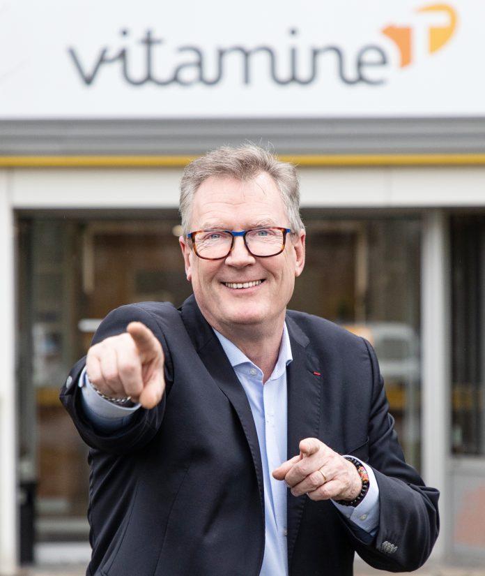 André Dupon, à la tête de Vitamine T