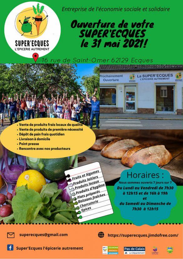 Dans les villages d'Esques et de Trépoux, l'épicerie fait le beau temps